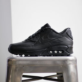 "NIKE AIR MAX 90 LEATHER ""BLK"""