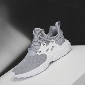 "NIKE REACT PRESTO (GS) ""WOLF GREY"""