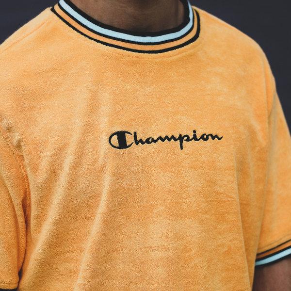 CHAMPION TERRY CLOTH TEE - ORANGE