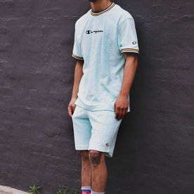 CHAMPION TERRY CLOTH TEE - WATERFALL GREEN
