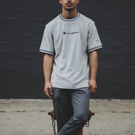CHAMPION TERRY CLOTH TEE - GREY