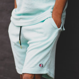 CHAMPION TERRY SHORTS - WATERFALL GREEN