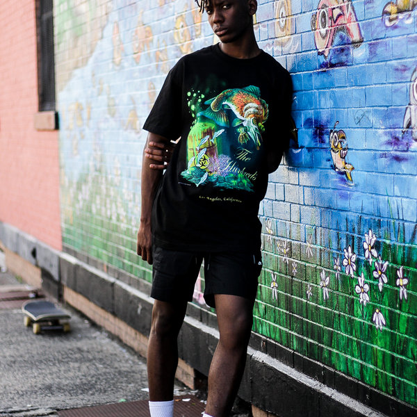 """THE HUNDREDS WASTED TEE """"BLACK"""""""