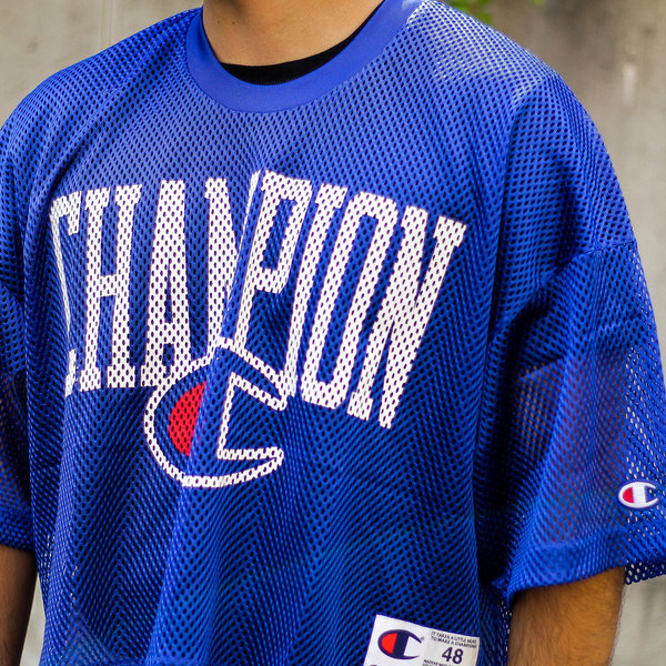 "CHAMPION MESH FOOTBALL JERSEY ""BLUE"""