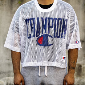 "CHAMPION MESH FOOTBALL JERSEY ""WHITE"""