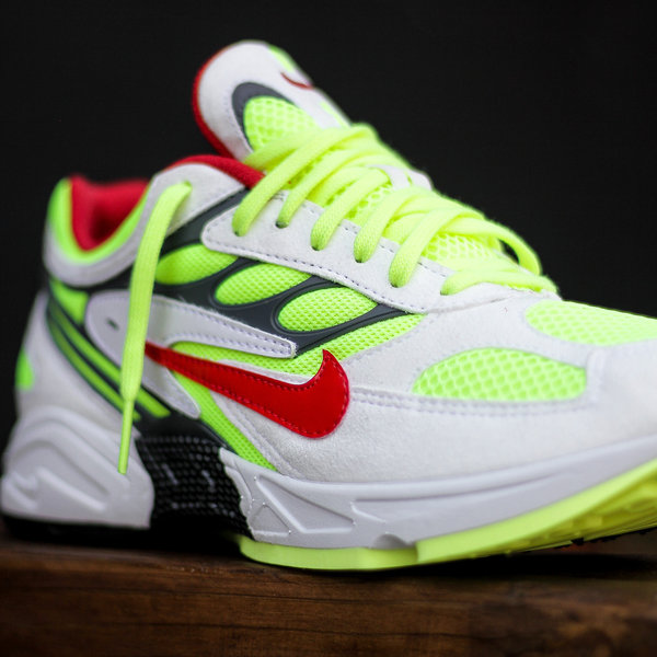 "NIKE AIR GHOST RACER ""NEON YELLOW"""