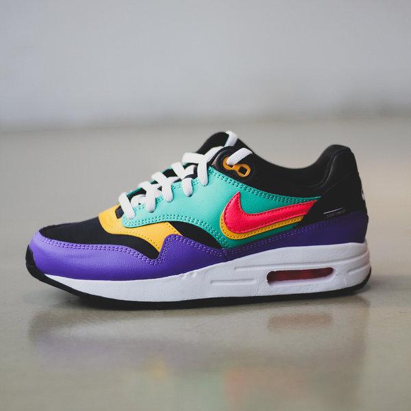 nike air max purple and black