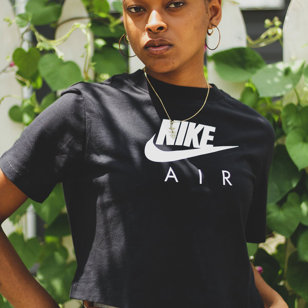NIKE WMNS NIKE AIR SS TOP - BLK