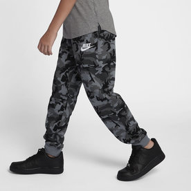 NIKE NSW FLEECE SWEATS PANTS CAMO BLK/GRY