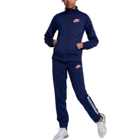 NIKE NSW GIRLS TRACKSUIT - BLUE
