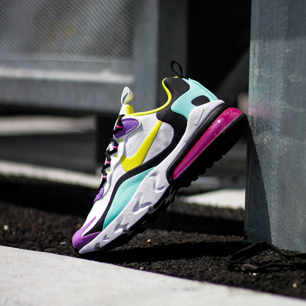 "NIKE AIR MAX 270 REACT ""DYNAMIC YELLOW"""