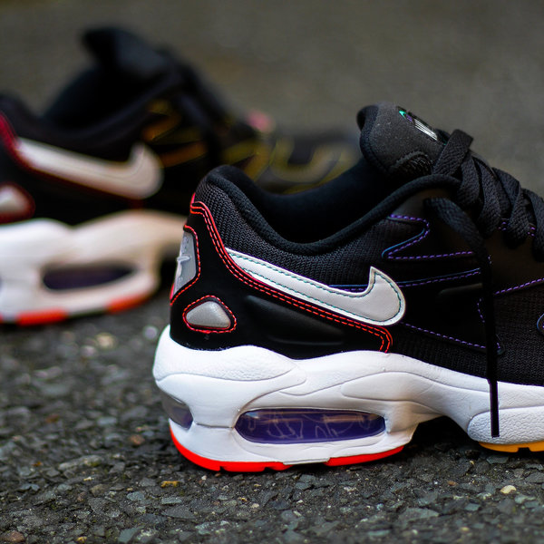 "NIKE W AIR MAX 2 LIGHT ""COLOR STITCH"""
