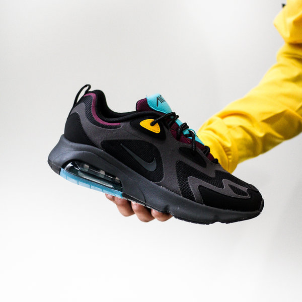 NIKE AIR MAX 200 - BORDEAUX