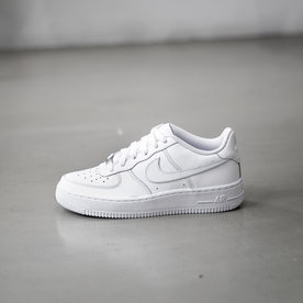 "NIKE NIKE AIR FORCE 1 ""WHITE"" (PS)"