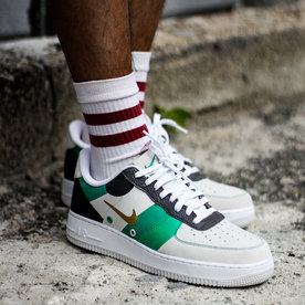 "NIKE AIR FORCE 1 '07 ""WHT/GRN"""