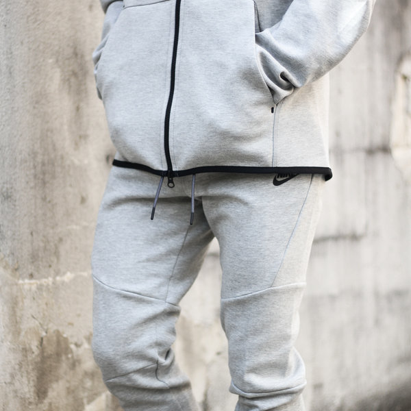 NIKE NIKE TECH FLC PANT - GREY