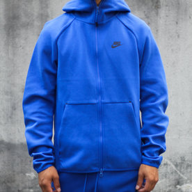 "NIKE NSW TECH FLC TOP ""GAME ROYAL"""