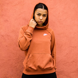 "NIKE W FUNNEL NECK SWEATER ""DUSTY PEACH"""