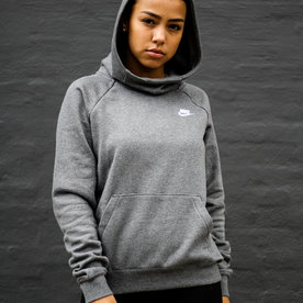 "NIKE W FUNNEL NECK SWEATER ""CHARCOAL"""