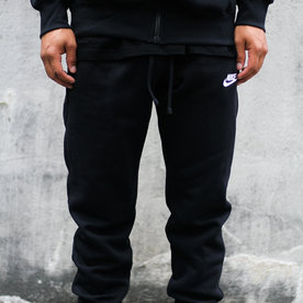 "NIKE CLUB FLC FULL JOGGER ""BLACK"""