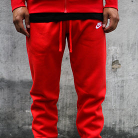 "NIKE CLUB FLC JOGGER ""RED"""
