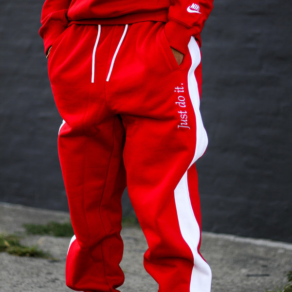 "NIKE JDI SWEATPANT ""UNI RED"""