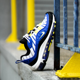 "NIKE AIR MAX 98 GS ""RACER BLUE"""