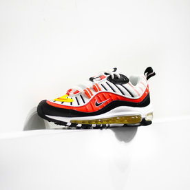 "NIKE AIR MAX 98  (GS) ""CRIMSON"""