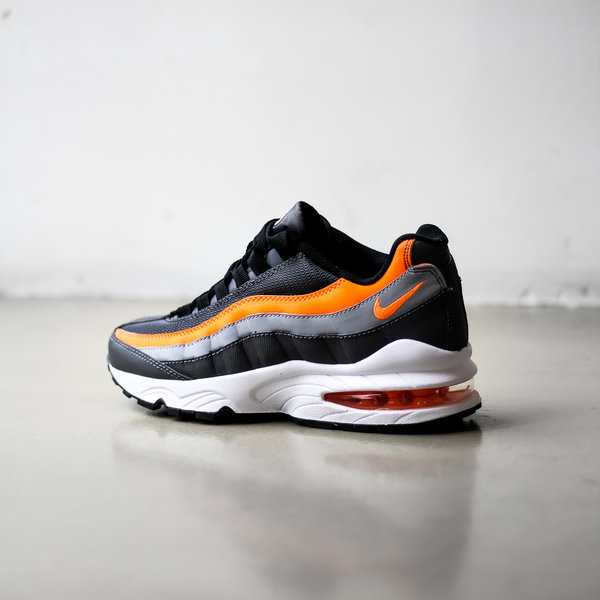 air max 95 orange black white
