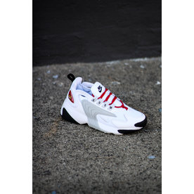 NIKE W ZOOM 2K - PURE PLAT/RED