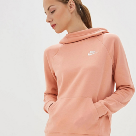 "NIKE W FUNNEL NECK SWEATER ""PINK QUARTZ"""