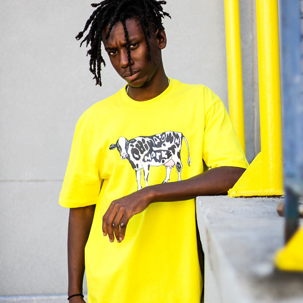 """CHINATOWN MARKET COW TEE """"YWL"""""""