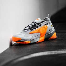 "NIKE ZOOM 2K ""WOLF GREY/ORANGE"""