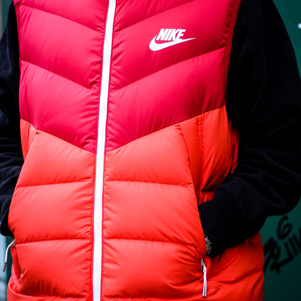 "NIKE DOWN FILL VEST WR ""GYM RED"""