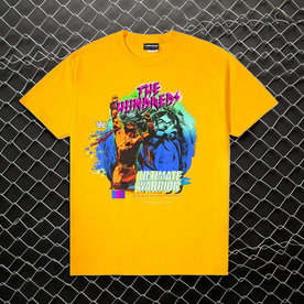 "THE HUNDREDS THE ULTIMATE WARRIOR T-SHIRT ""GOLD"""