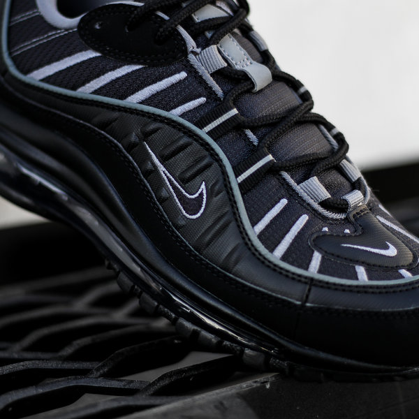 "NIKE AIR MAX 98 ""BLACK SMOKE"""