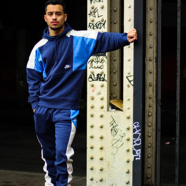 """NIKE NSW FLEECE PANTS """"BLUE"""""""