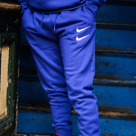 "NIKE NSW SWOOSH PANTS ""DEEP ROYAL"""
