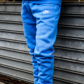 "NIKE CLUB FLC JOGGER ""PACIFIC BLUE"""
