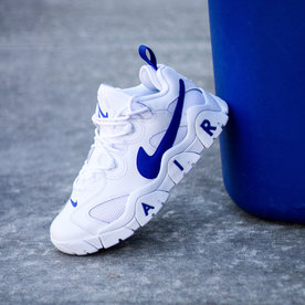 "NIKE NIKE AIR BARRAGE LOW ""WHT/HYPER BLUE"""