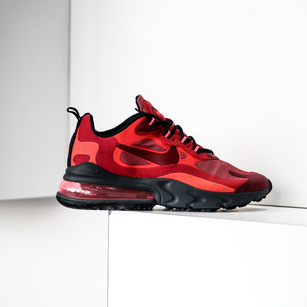 "NIKE AIR MAX 270 REACT ""GYM RED"""