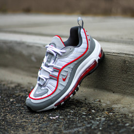 "NIKE NIKE AIR MAX 98 (GS) ""UNI RED"""