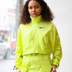 "NIKE W SWOOSH JACKET ""LIMELIGHT"""