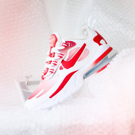 "NIKE W AIR MAX 270 REACT SE ""TRACK RED"""
