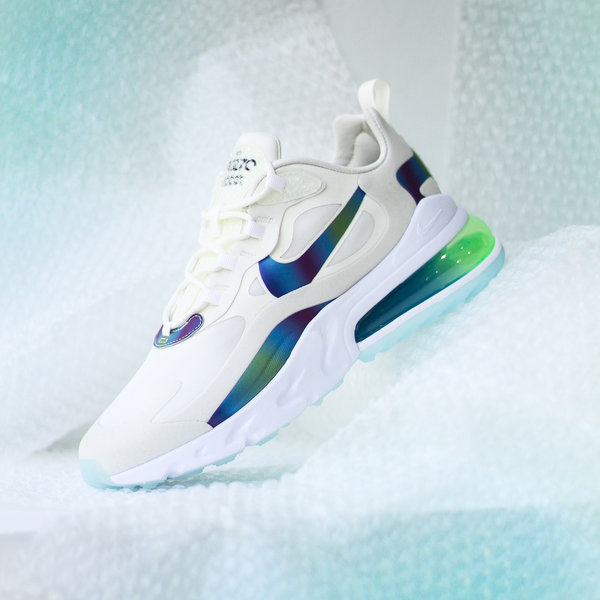 "NIKE AIR MAX 270 REACT ""SUMMIT WHT"""
