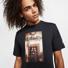 "AIR JORDAN CHIMNEY T SHIRT ""BLK"""
