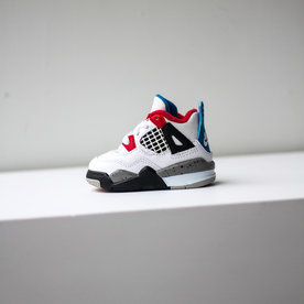 "AIR JORDAN AJ 4 RETRO ""WHAT THE 4"" (TD)"