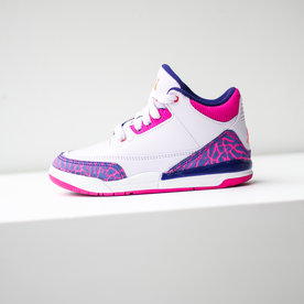 "AIR JORDAN AIR JORDAN 3 (PS) ""BARELY GRAPE"""