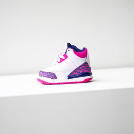 "AIR JORDAN AIR JORDAN 3 (TD) ""BARELY GRAPE"""