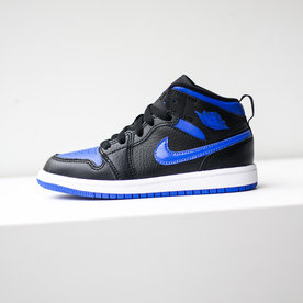 "AIR JORDAN JORDAN 1 MID ""HYPER ROYAL"" (PS)"